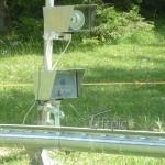 Kamera im Universalgehäuse mit Blitz