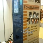 Die FunFotoBox als Give-Away Maschine..