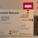 Merchandizing-Automat mit Münzprüfer