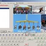 Touchscreen-Lösung zur Erstellung individueller Postkarten