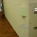 SB-FunFotoAutomat in Wand integriert mit Sucherbildschirm