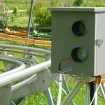 Flitzerblitzer-Kamera mit Flash integriert im Starenkastendesign