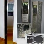 Mobiler PhotoPoint - zerlegbar & stabil, zur Aufnahme verschiedener Kamerasysteme
