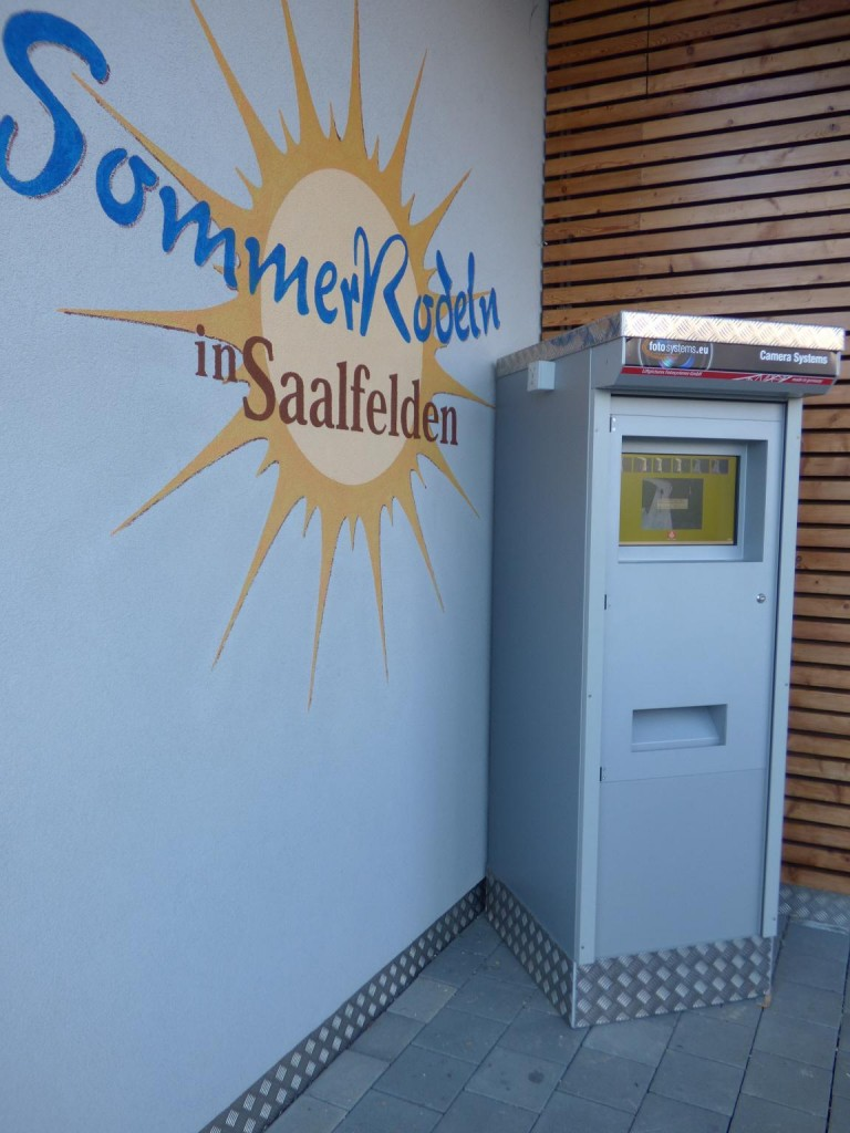 Fotoautomat in Saalfelden