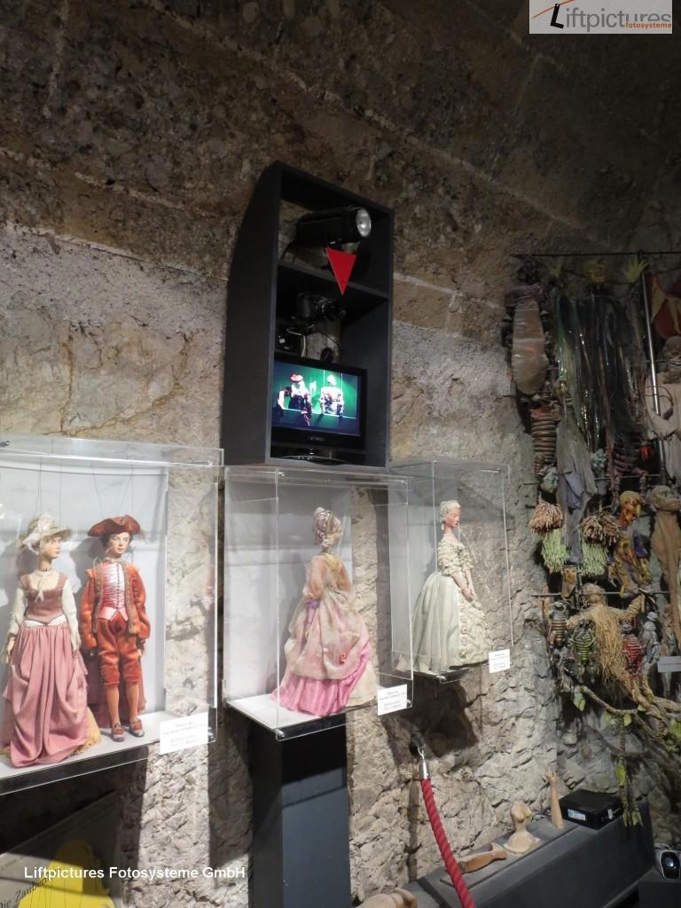 Liftpictures-Kamera mit Live-Viewer im Museum Salzburg