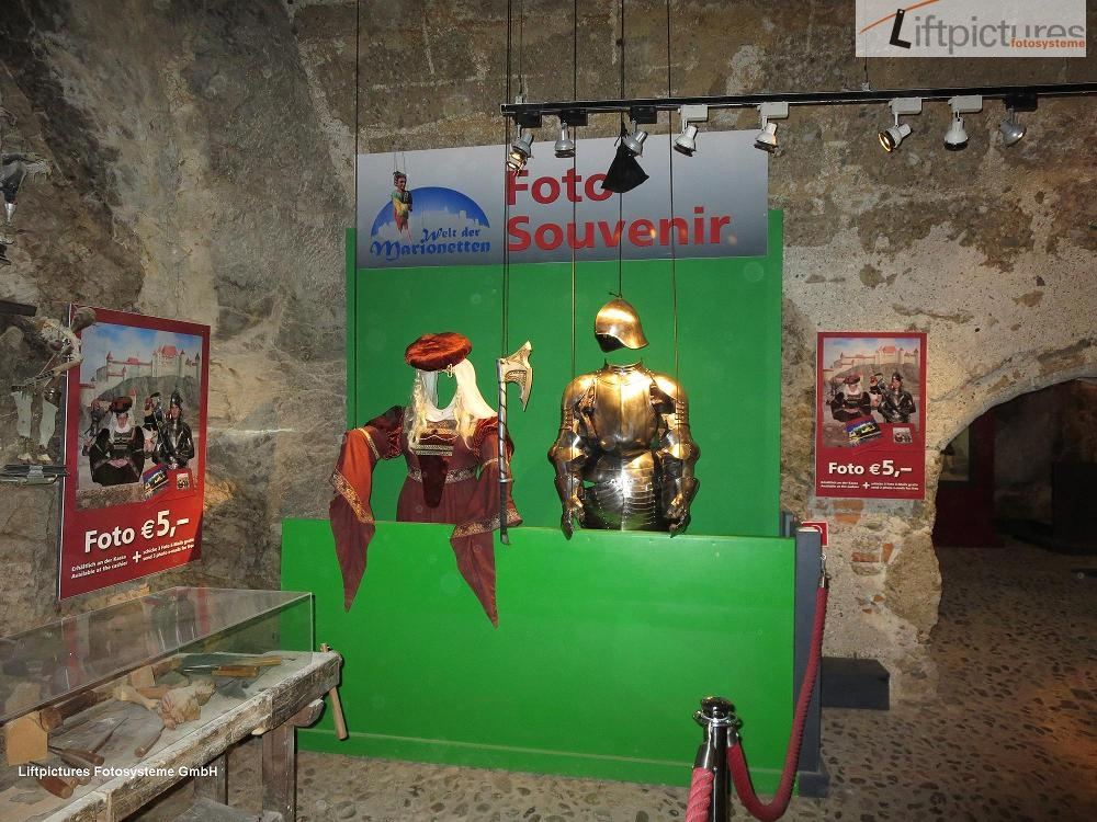 3D Aufbau mit Liftpictures im Museum Salzburg