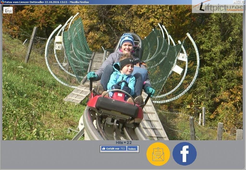 Liftpictures RodelCAM in den sozialen Medien
