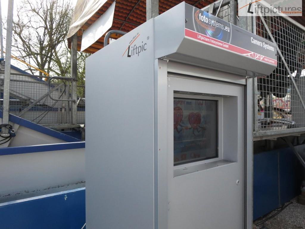 Mobiler SB-Automat für Schausteller