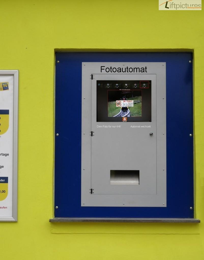 Liftpictures SB-Fotoautomat als Einbaulösung