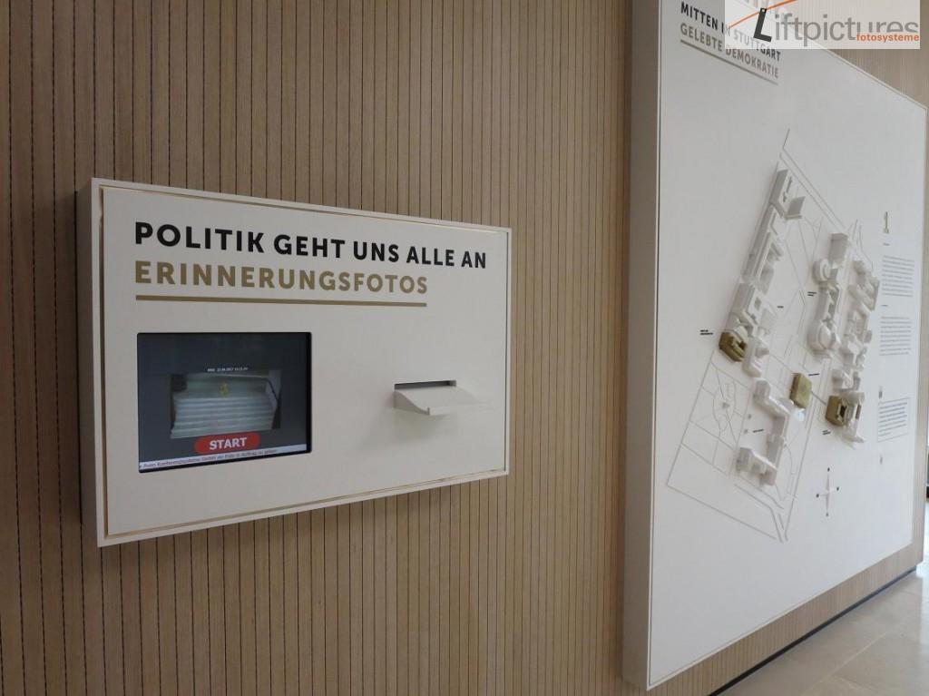 Liftpictures im Landtag Stuttgart
