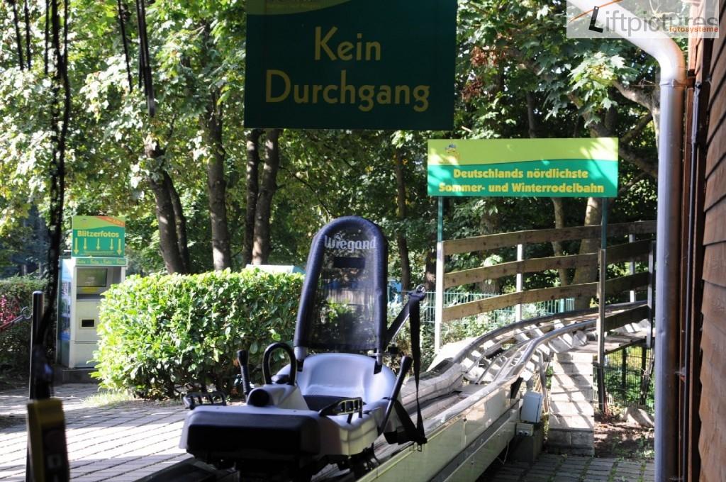 Sommerrodelbahn auf Rügen - Lieftpictures ProfiCAM System mit SB-Automat