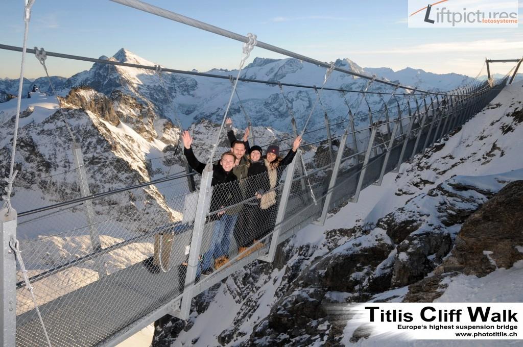 Titlis PhotoPoint an Panoramabrücke