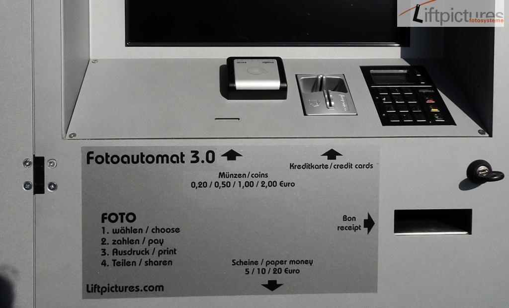 Wechselplatte Automat